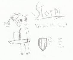 Storm, The Changed Yellow Pikmin by TwistedHensley