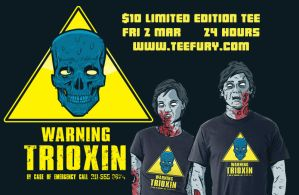 Trioxin Tee for $10 by Ape74