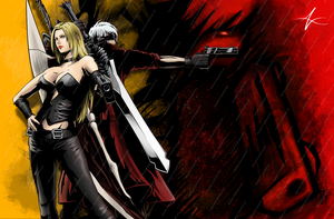 Devil May Cry Template by DeStryker17