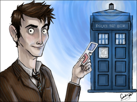The Doctor and The Tardis by Ungapants