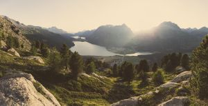 Engadin in September by creatyves