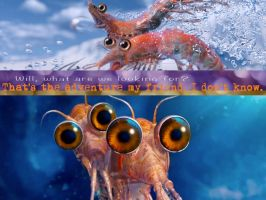 Will and Bill The Krill by AsBsCs