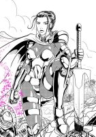 Psylocke ReDesign Armored Ver. by ZhaxRa