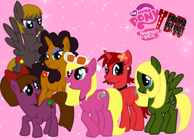 My Little Pony:Revenge of the Island Girls by Princess1324