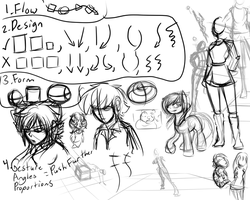 Sketchdump 1 and Notes by TheRebelPhoenix