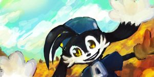 klonoa sketch by Kna