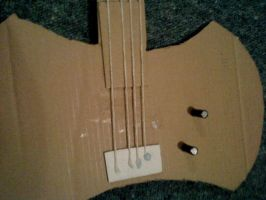 Axe Bass Body - Stringed by Rose-Logic