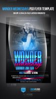 Wonder Wednesdays Party Flyer Template by ImperialFlyers