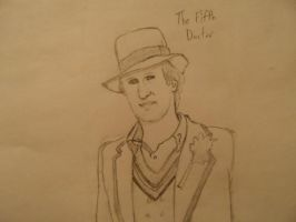 The Fifth Doctor by J-Edgar-Pinkerton