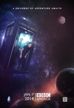 Doctor Who: Series 8 Teaser Poster by SkinnyGlasses