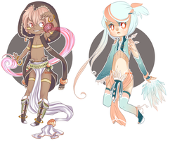 Magical Adopts - Beekaih - CLOSED by BeesHoneypot