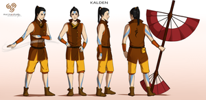 Commission: Kalden - Character Concept Design by Marina-Shads