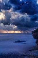 Thundery weather Basque by Anupthra