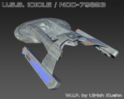 USS ICICLE / NCC-79823 W.I.P.-083 Textures by ulimann644