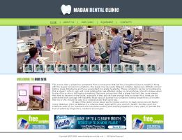 Dental Clinic Mock by palneera