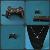 PS3 Charm by MeevieRae