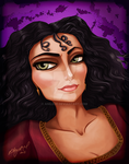 Mother Gothel by Anilede