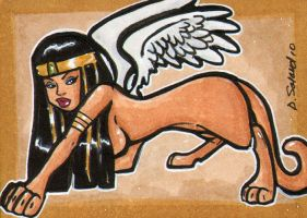 Sphinx sketchcard by dsoloud