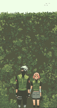 Babes in Bushes by neonanything