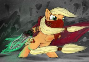 Applejack, Princess Of Thieves by quiet-victories