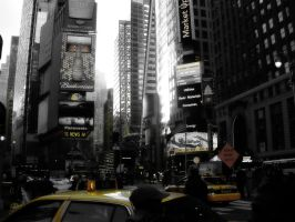 Times Square by hamsher