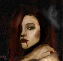 The red vampiress by lorienicole