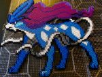 Suicune Perler by KrispyMeat