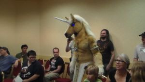 awesome unicorn by Animedevildeman