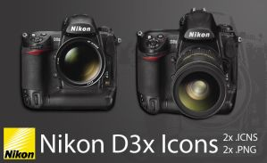 Nikon D3x Icons - Update by photoartiste