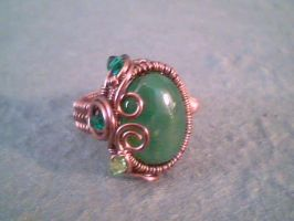 Spirit of the Spruce - Adjustable Ring by Carmabal