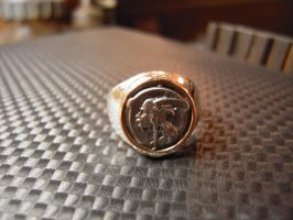 Gallic Medal ring by Debals