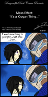 ME: It's a Krogan Thing by DragonoftheDark