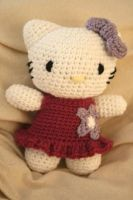 Hello kitty doll by Lovepanda29