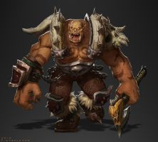 Garrosh Hellscream - Wow by StaplesART