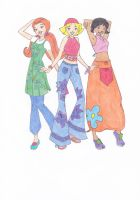totally spies by blackreaper-dusk