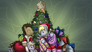 Hooves Hearth's Warming by saturnspace