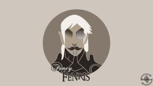 Fancy Fenris by MediocreMemory