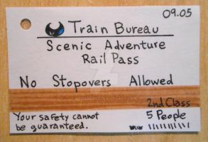Touch Detective Train Ticket by 402ShionS3