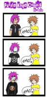 Do I Look EMO.:.PK Comics.:. by Mahadesu