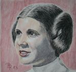 Leia Organa by LoonaLucy