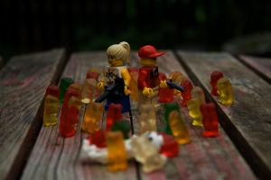 Gummy Bear ZOMBIES by Smandarine