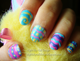 Easter Eggs by nightskynaildesign