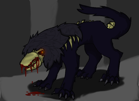 SCP 682 by Sabertoothgirl