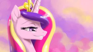 Cadance Portrait by KP-ShadowSquirrel