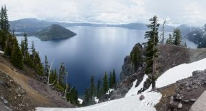 Crater Lake by Lucycolt
