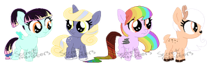 Foals Adopts by SecretMonsters