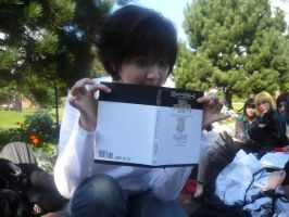 L with death note 27.9.08 by karaseechakra