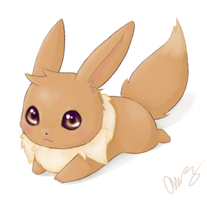 Tan Eevee by MsKtty89