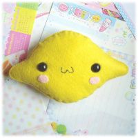 Lemon Plushie by Keito-San