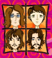 The Beatles by AuntyRichie